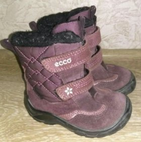 Зимние ботинки ecco 23 рр