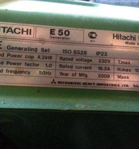 Бензиновая электростанция hitachi