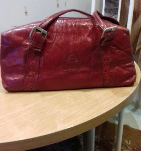 Кожаная дамская сумка
