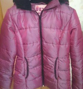 Куртка зимняя новая 44