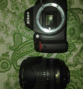 Nikon d40 + объектив nikkor dx 18-105