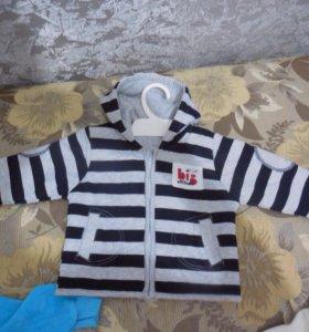 Пиджачок детский 80р