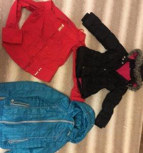 Одежда для девочки от 6-8лет