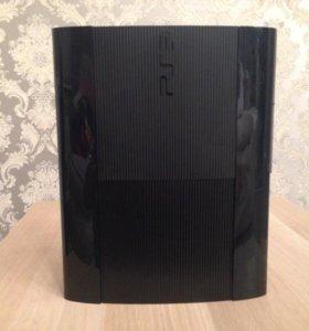 PlayStation 3 Super Slim + 30 игр + 2 DualShock