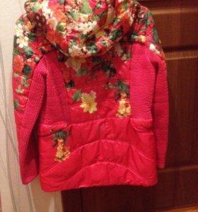 Куртка для девочки школьницы