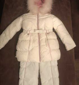 """Зимний костюм и шапка """"Les Trois Valles"""" + сапожки"""