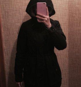 Зимняя тёплая куртка adidas