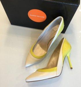 Karen Millen новые туфли лодочки