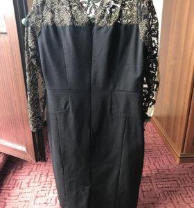 Платье чёрное кружево (Париж)