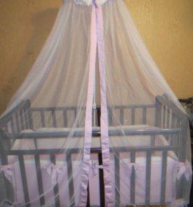 продам кроватку для малышки