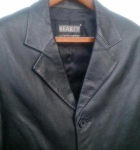 Пиджак кожаный Винтаж