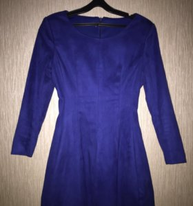Велюровое платье женское