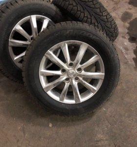 Комплект зимних колёс тойота камри