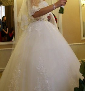Срочно! Шикарное свадебное платье!