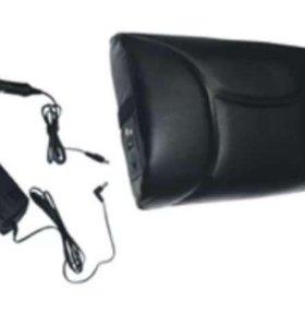 Массажная подушка кожаная KW 728
