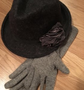 Шляпа+ перчатки