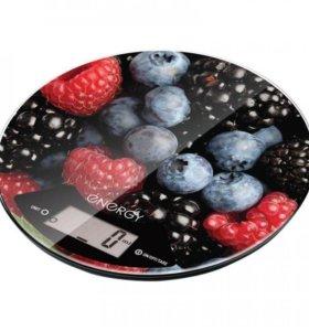 Весы кухонные электронные ENERGY EN-403 круглые