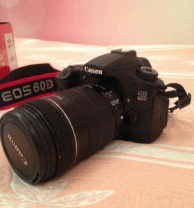 Зеркальный фотоаппарат Canon EOS 60d