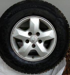 Зимние шины nexen 245/70 r16 на литых дисках