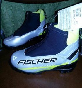 НОВЫЕ лыжные ботинки FISCHER детские