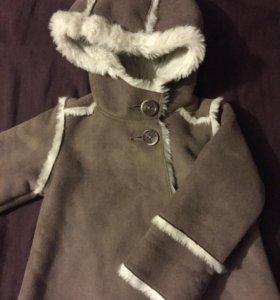 Детская куртка 6-12мес