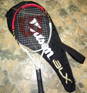 Теннисная ракеткаWilson для начинающих игроков.