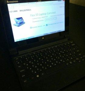 """Ноутбук-трансформер """"lenovo flex 10"""""""