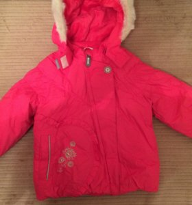 Зимняя куртка и штаны полукомбинезон