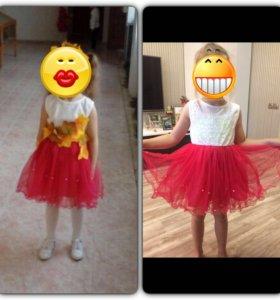 Новое праздничное платье на девочку