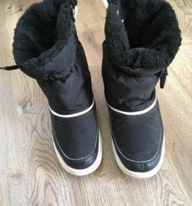 Сапоги-ботинки-дутики