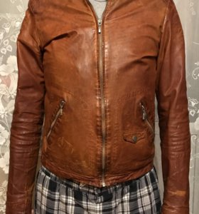 Куртка кожаная Froccella. 48 размер