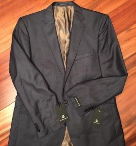 Пиджак классический мужской, темно-синий