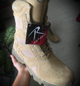 Мужские кожаные ботинки Rothco
