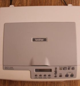 Мфу Brother DCP-135C принтер