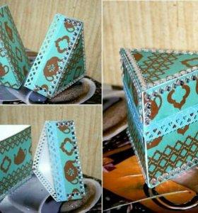 Сувенирные коробочки для чая