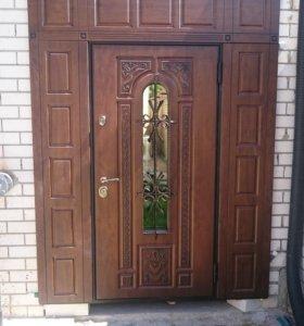 Монтаж межкомнатных и входных дверей
