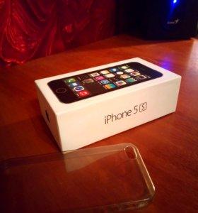 Коробка от айфон 5s и чехол