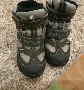 Ketch ботинки осень зима