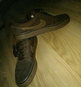 Кеды Nike 36.5 (текстиль, замша) 23.5 см
