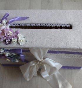 Сундук свадебный ручной работы