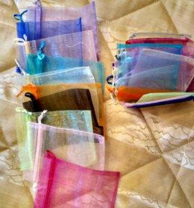 Подарочные мешочки из органзы