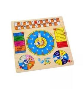 Календарь, развивающая игра