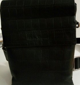Мужская сумка из натур. кожи Salvatore Ferragamo