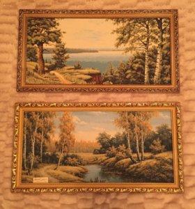 Картины гобелен 69х33