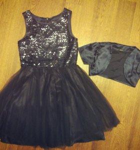 Платье нарядное р. 140