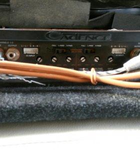 Усилитель Cadence XAH 175.4, Kicx QS 4.160