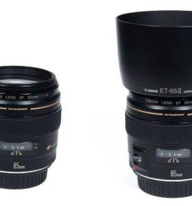 Объектив Canon 85mm f/1.8 USM