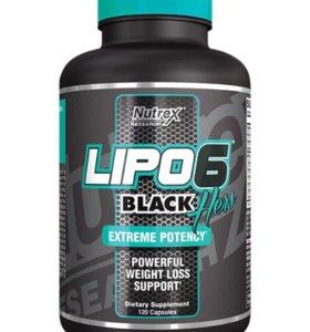 Жиросжигатель Lipo 6 black hers/60 капсул