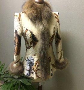 Утеплённая курточка