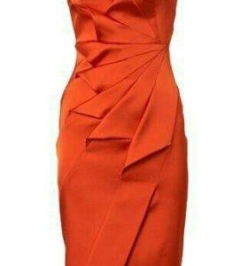 Шикарное красное платье Karen Millen